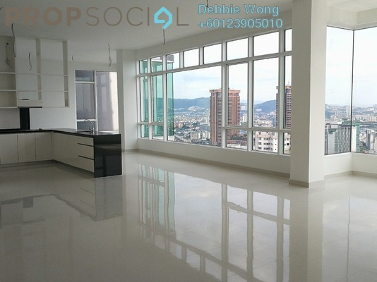Condominium For Rent in Verticas Residensi, Bukit Ceylon Freehold Semi Furnished 5R/6B 13k