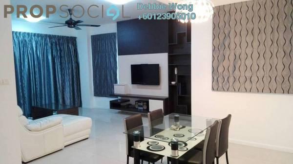 Condominium For Sale in Casa Kiara II, Mont Kiara Freehold Fully Furnished 3R/3B 885k