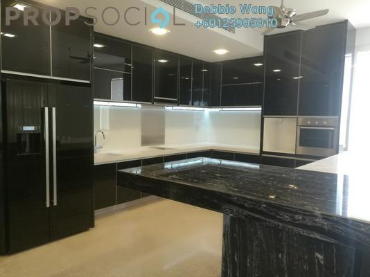 Condominium For Rent in One Menerung, Bangsar Freehold Semi Furnished 4R/6B 17k