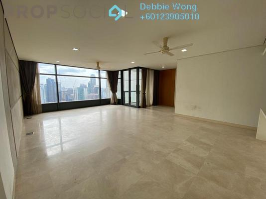 Condominium For Rent in The Troika, KLCC Freehold Semi Furnished 3R/4B 9k