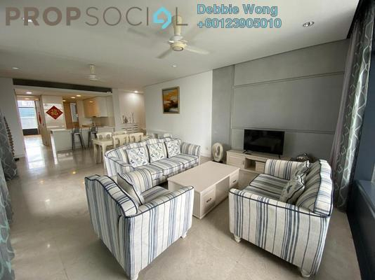Condominium For Rent in The Troika, KLCC Freehold Fully Furnished 3R/4B 11k