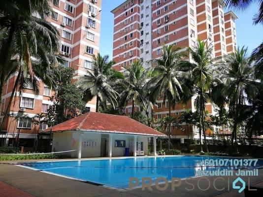 Condominium For Sale in Garden Park, Bandar Sungai Long Freehold Semi Furnished 3R/2B 230k