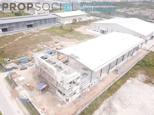 Factory For Sale in Taman Perindustrian Kapar Bestari, Klang Freehold Semi Furnished 0R/0B 15.5m