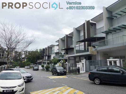 Terrace For Sale in Sunstone Villa, Bandar Mahkota Cheras Freehold Unfurnished 6R/4B 790k