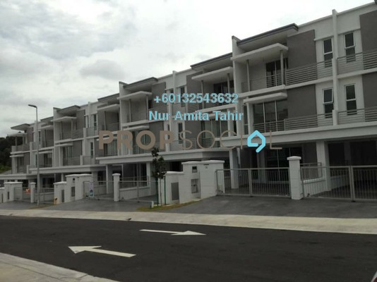 Terrace For Rent in Sunway Alam Suria, Shah Alam Freehold Unfurnished 5R/4B 1.5k