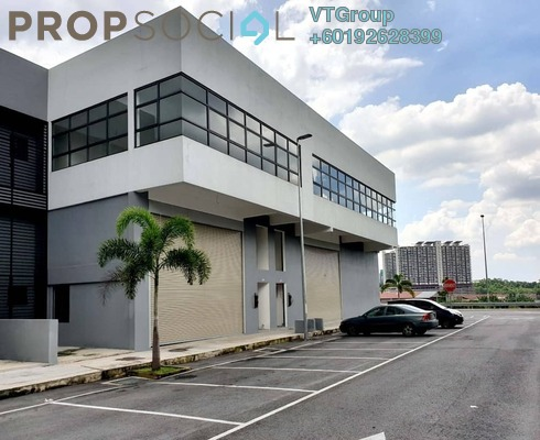 Factory For Sale in Industrial Primont Perdana Park, Sungai Buloh Freehold Unfurnished 0R/0B 3.1m