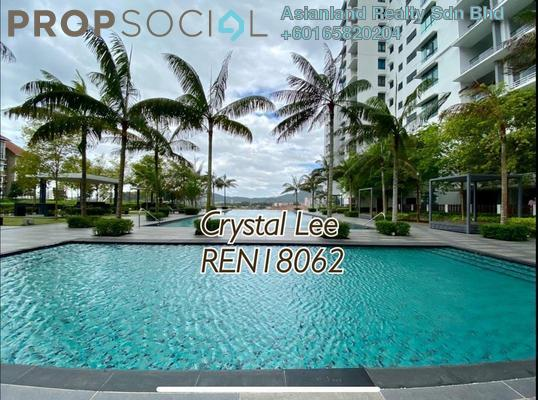 Serviced Residence For Sale in Fortune Perdana Lakeside, Kepong Freehold Semi Furnished 3R/2B 465k
