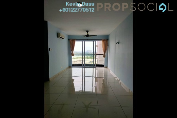 Serviced Residence For Sale in Aurora Residence @ Lake Side City, Puchong Freehold Semi Furnished 3R/2B 470k