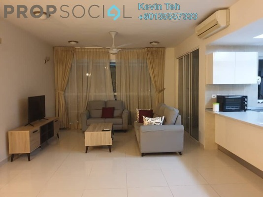 Condominium For Rent in Mont Kiara Meridin, Mont Kiara Freehold Fully Furnished 4R/4B 4k