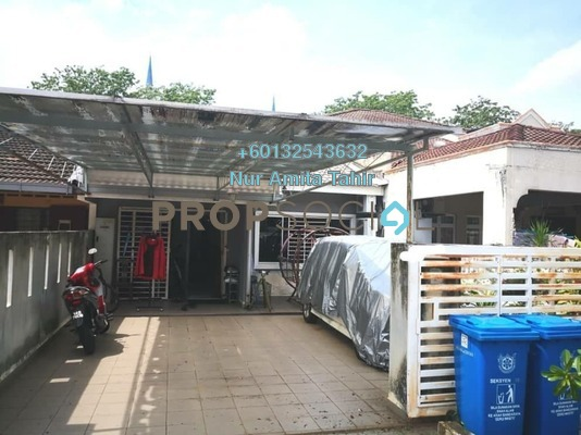 Terrace For Sale in Section 10, Shah Alam Freehold Fully Furnished 3R/2B 530k