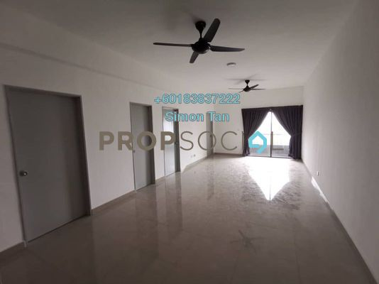Condominium For Rent in Palm Hill Residence, Batu 9 Cheras Freehold Semi Furnished 3R/2B 1.3k