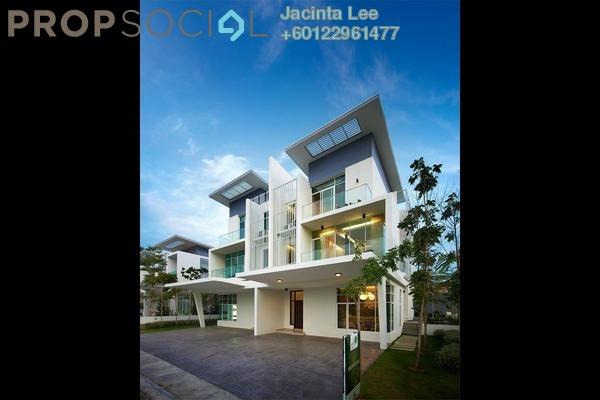 Semi-Detached For Sale in Clover @ Garden Residence, Cyberjaya Freehold Semi Furnished 6R/6B 1.17m