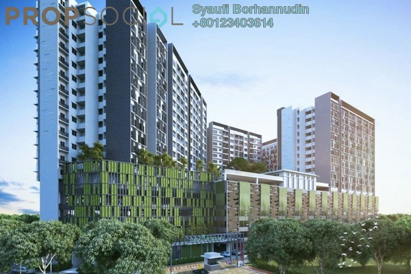 Condominium For Sale in Suria Residence, Bukit Jelutong Freehold Unfurnished 3R/2B 820k