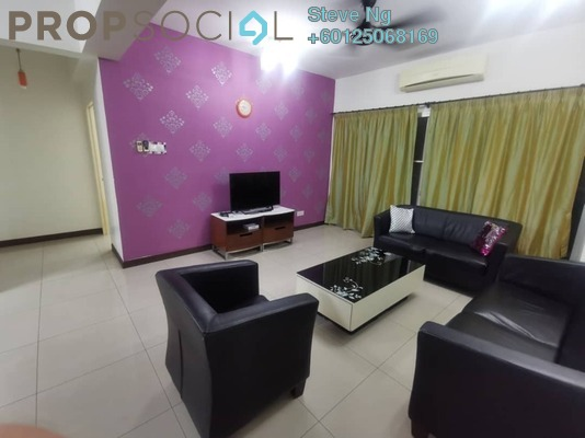 Condominium For Rent in Ampang Putra Residency, Ampang Freehold Fully Furnished 3R/2B 1.9k