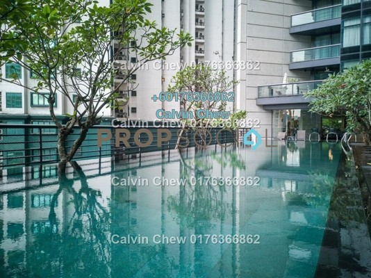 Condominium For Sale in The Troika, KLCC Freehold Unfurnished 4R/4B 2.5m