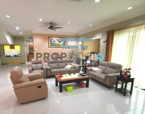 Semi-Detached For Sale in Laman Residen, Jalan Ipoh Freehold Semi Furnished 4R/4B 1.5m