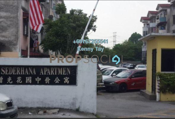 Apartment For Sale in Taman Jinjang Baru, Jinjang Freehold Semi Furnished 3R/2B 150k
