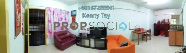 Apartment For Sale in Laman Rimbunan, Kepong Freehold Semi Furnished 3R/2B 250k