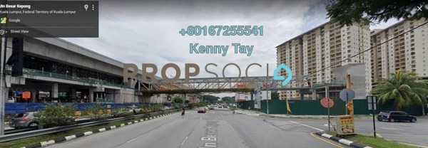 Apartment For Sale in Vista Mutiara, Kepong Freehold Semi Furnished 3R/2B 355k