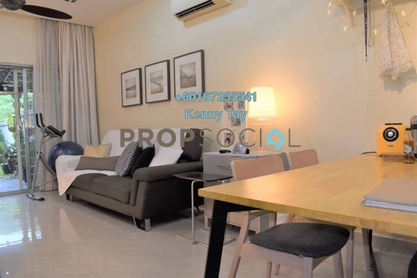 Townhouse For Sale in Villa Mas 2, Jalan Ipoh Freehold Semi Furnished 4R/3B 765k