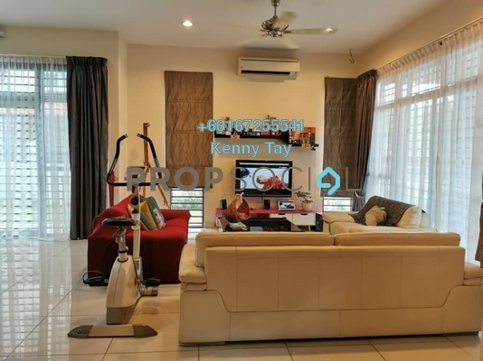 Semi-Detached For Sale in Areca Residence, Kepong Leasehold Semi Furnished 6R/5B 2.2m
