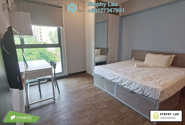 Condominium For Rent in Sunway GeoSense, Bandar Sunway Freehold Fully Furnished 0R/1B 1.4k
