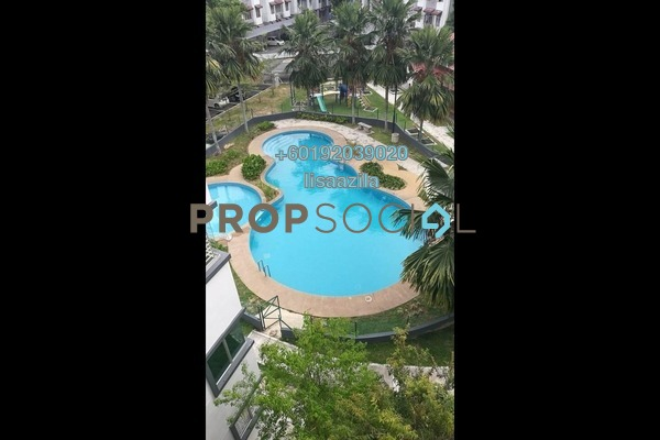 Apartment For Rent in D'Camelia Court, Nilai Freehold Semi Furnished 3R/2B 1.1k