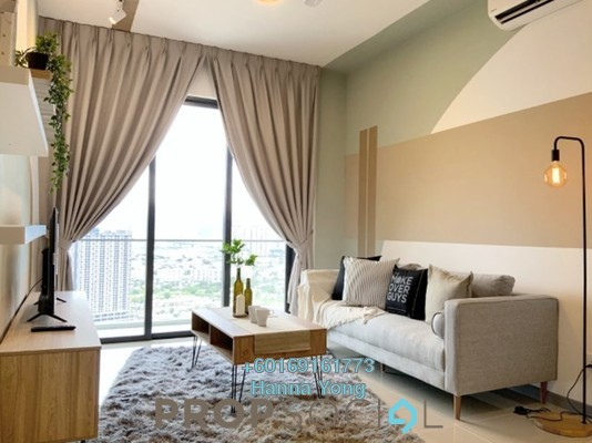 Serviced Residence For Rent in United Point Residence, Segambut Freehold Fully Furnished 3R/2B 2.6k