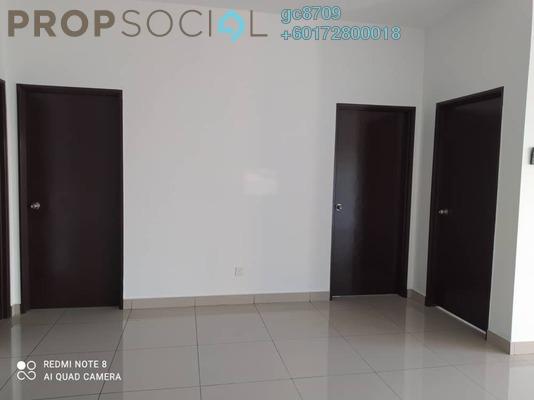 Condominium For Rent in Taman Zamrud, Kajang Freehold Semi Furnished 3R/2B 1.1k