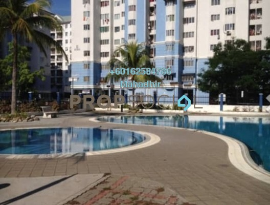 Apartment For Sale in Tasik Heights Apartment, Bandar Tasik Selatan Freehold Semi Furnished 3R/2B 279k