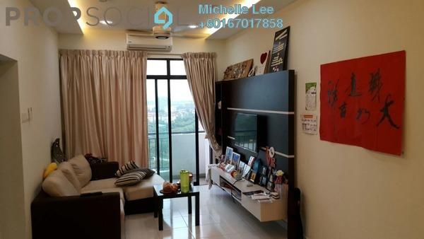 Serviced Residence For Sale in Jentayu Residensi, Johor Bahru Freehold Semi Furnished 3R/2B 340k