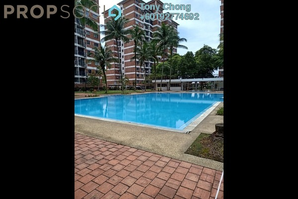 Condominium For Rent in Forest Green, Bandar Sungai Long Freehold Semi Furnished 3R/2B 900translationmissing:en.pricing.unit