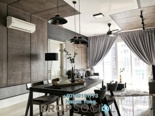 Serviced Residence For Rent in Pacific Place, Ara Damansara Freehold Fully Furnished 3R/2B 2.3k