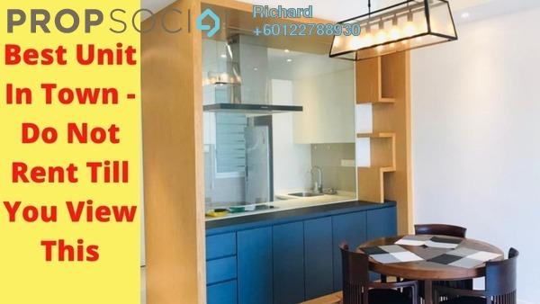 Serviced Residence For Rent in Nova Saujana, Saujana Freehold Semi Furnished 2R/2B 2k