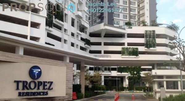 Serviced Residence For Sale in Tropez Residences, Danga Bay Freehold Semi Furnished 2R/2B 379k