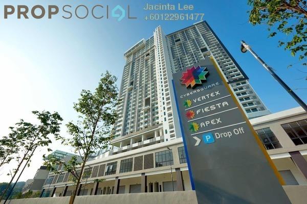 SoHo/Studio For Sale in CyberSquare, Cyberjaya Freehold Semi Furnished 2R/2B 237k