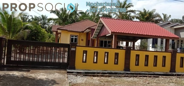 Bungalow For Sale in Taman Senangin, Kulim Freehold Fully Furnished 4R/2B 400k