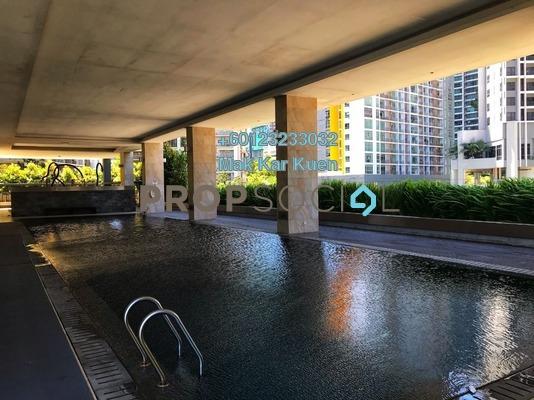Serviced Residence For Sale in Mirage Residence, KLCC Freehold Semi Furnished 1R/1B 855k