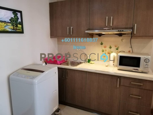 Condominium For Rent in Park View, KLCC Freehold Fully Furnished 1R/1B 1.5k