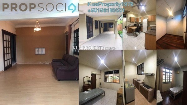 Bungalow For Rent in Tabuan Laru, Kuching Freehold Fully Furnished 7R/2B 2.2k