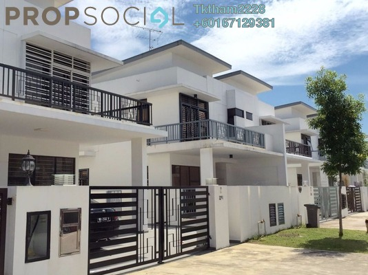 Terrace For Sale in Taman Bukit Indah, Bukit Indah Freehold Semi Furnished 4R/5B 900k