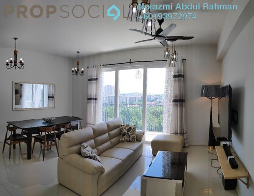 Condominium For Rent in Verdi Eco-dominiums, Cyberjaya Freehold Fully Furnished 3R/3B 2.9k