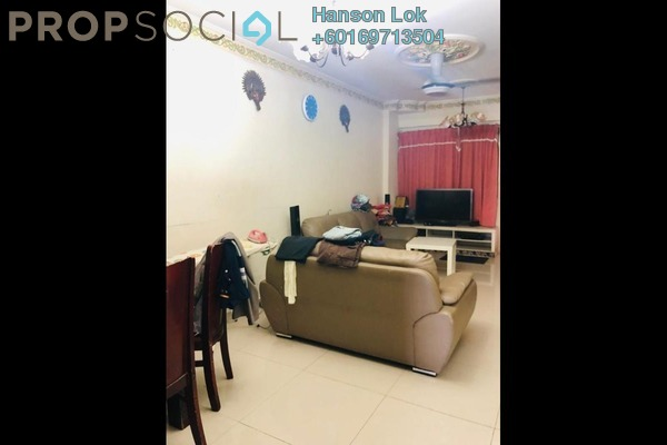 Apartment For Sale in Laman Rimbunan, Kepong Freehold Semi Furnished 3R/2B 238k