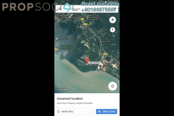 Land For Sale in Kampung Tanjung Agas, Muar Freehold Unfurnished 0R/0B 76m
