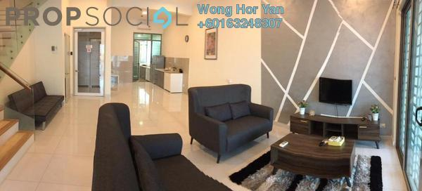 Superlink For Rent in Taman Puchong Permai, Puchong Freehold Fully Furnished 6R/5B 2.5k