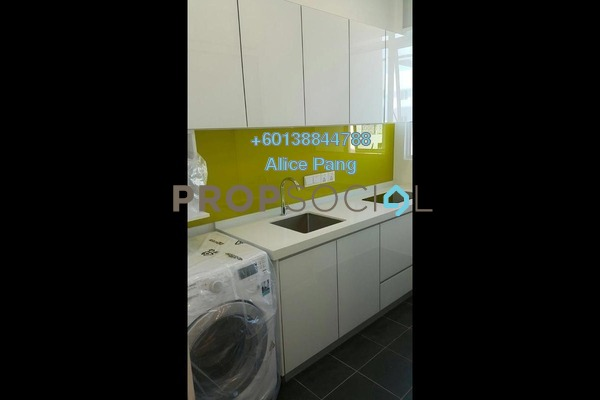 Condominium For Rent in Straits Garden, Jelutong Freehold Fully Furnished 1R/1B 1.2k