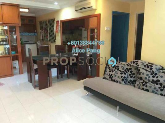 Condominium For Rent in Symphony Park, Jelutong Freehold Fully Furnished 3R/2B 1.5k