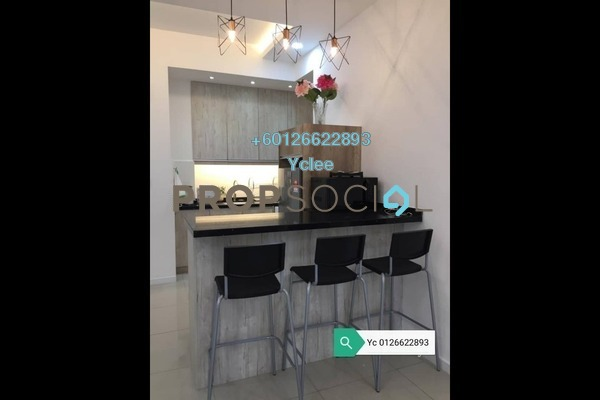 Condominium For Rent in Suria Residence, Bukit Jelutong Freehold Fully Furnished 2R/2B 1.8k