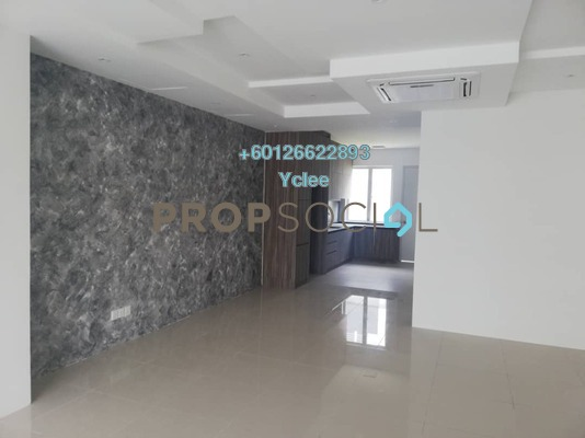 Terrace For Rent in CasaView @ Cybersouth, Dengkil Freehold Unfurnished 4R/3B 1.6k