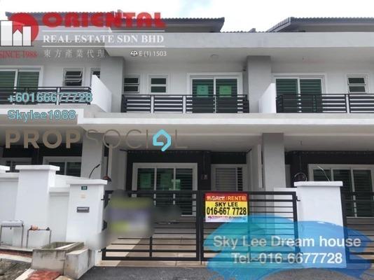 Terrace For Rent in Bandar Seri Botani, Ipoh Freehold Unfurnished 4R/3B 1.3k